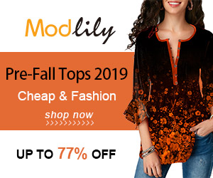 Modlily Pre-Fall Tops 2019 Cheap & Fashion UP TO 77% OFF!