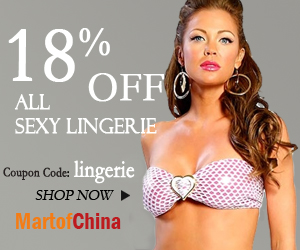 """Sexy lingerie 18% off, with code """"lingerie"""""""