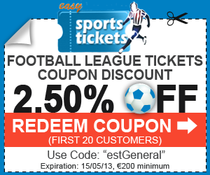Order now securely your Football tickets and get in the game.