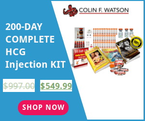 200 Cpmplete HCG Injection Kit