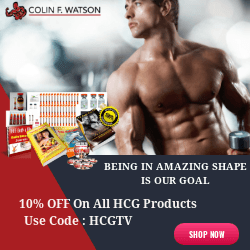 10% OFF on All HCG Products