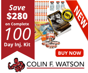 Save $280 on Complete 100 Days Inj.Kits