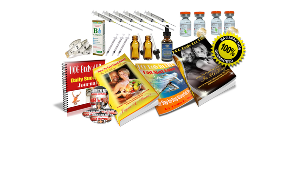 Complete 60 Day HCG Drops Success Kit