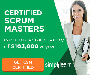 Agile & Scrum Certification Online Course from Simplilearn