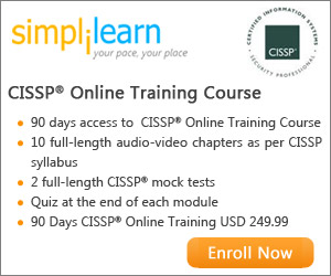 CISSP Certification Online Course from Simplilearn