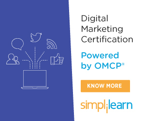 Digital Marketing Certified Associate Training (DMCA)