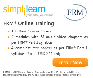 FRM Part 1 Online Course from Simplilearn