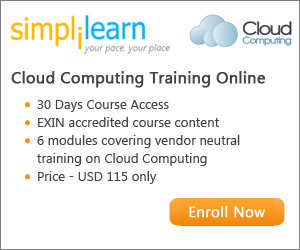 Cloud Computing Online Courses from Simplilearn