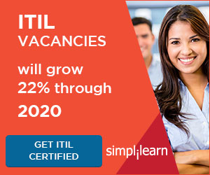 ITIL 2011 Foundation Online Course from Simplilearn