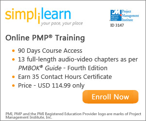 PMP Online Courses from Simplilearn