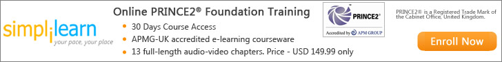 PRINCE2 Foundation Online Course from Simplilearn