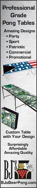 BJs Beer Pong Tables