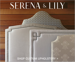 Design your dream bed, sofa, chair and more at Serena & Lily.