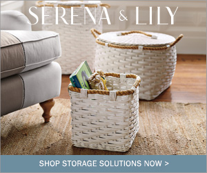 Shop all storage at Serena & Lily. Shop Now >