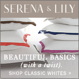Beautiful basics with a twist. Shop all classic whites now at Serena & Lily.