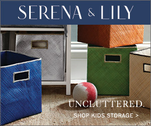 Uncluttered. Shop stylish storage solutions at Serena & Lily.