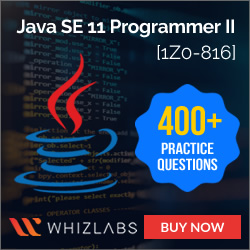 Java SE 11 Programmer II [1Z0-816] Practice Tests