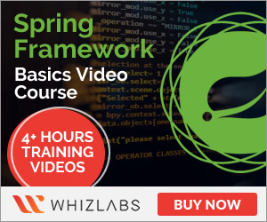 Spring Framework Basics Video Course