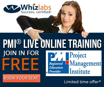 Whizlabs PMP Live Online Training