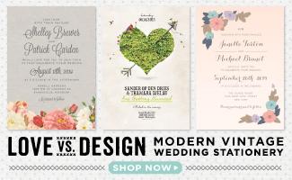 Love vs Design Wedding Invitations