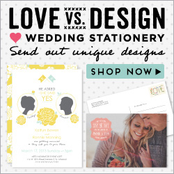 Love vs Design Wedding Invitations