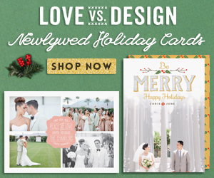 newlywed holiday cards