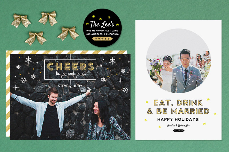 unique holiday cards