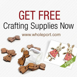 Get Free Crafting Supplies from Wholeport.com