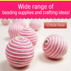 Wide range of beading supplies and crafting ideas!