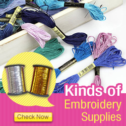 What crafts will you do with embroidery supplies? Check now!