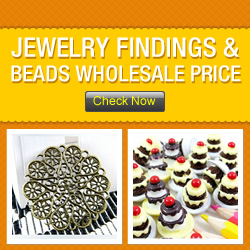 Jewelry Findings & Beads Wholesale Price!