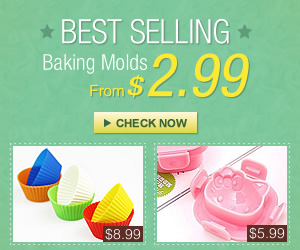 Different kinds of cute Baking Molds, From $2.99