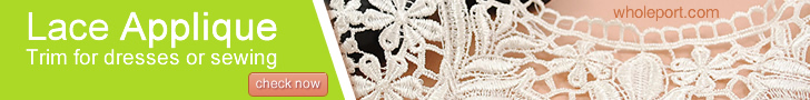 Lace Applique Trim for dresses or sewing