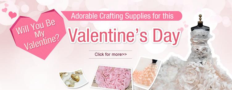 Valentine's Day Crafting Sale