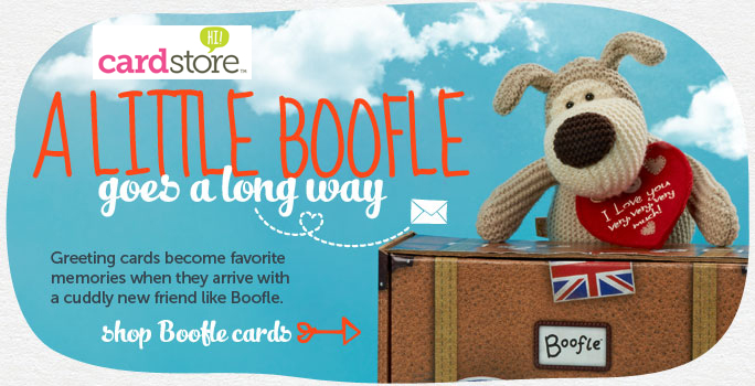 Send Mom a Cuddly Boofle with her Mother's Day Card! Limited Quantities Available at Cardstore - Shop Now!
