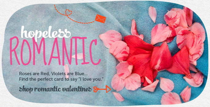 Hopeless Romantic! Customized Valentine's Day Cards at Cardstore are Easy-to-Make and More Meaningful! Make a Card Now!