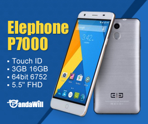 Only $229 for Elephone P7000 Pioneer Smartphone Touch ID 3GB 16GB 64bit MTK6752 5.5'' FHD