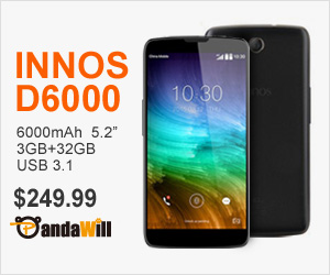 6000mAh Dual Battery INNOS D6000 only $249.99