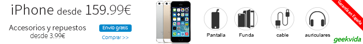 iPhone desde 159.99€ y sus accesorios y repuestos desde 3.99€-- Envío gratis y garantía en España
