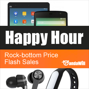Pandawill Happy Hour Flash Deals