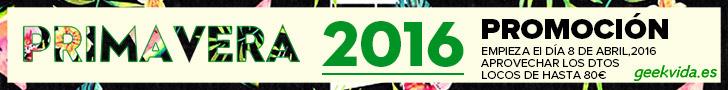 PROMOCIÓN DE PRIMAVERA 2016 CON UN MONTÓN DE GANGAS QUE NO DEBE PERDER