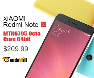 Only $209.99 For XIAOMI Redmi Note 2 4G Smartphone 5.5 Inch FHD MTK6795 Octa Core 2.0GHz 2GB 16GB