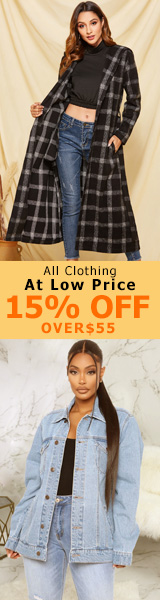 All Clothing At Low Price 15% off over $55