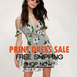 Print Dress Sale Up to 80% off & Free Shipping!! Shop Now