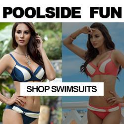 Maykool Seaside looks! Shop Swimsuits.