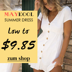 Maykool Summer Dress Low to $9.85