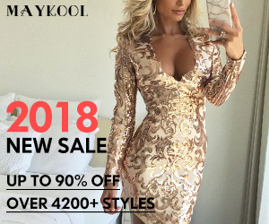 Maykool 2018 New Sale Up to 90% Off & 4200+                            Styles