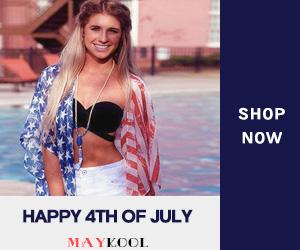 Maykool Happy 4TH OF JULY Shop now