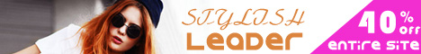 Stylish Leader ! 40% off entire site