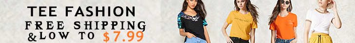 Tee Fashion Free Shipping & Low to $7.99 Shop Now!!